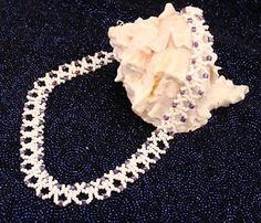 Blue & Turquoise Netted Necklace - Sova-Enterprises.com