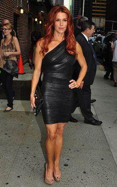 One Shoulder Black Bandage Dress