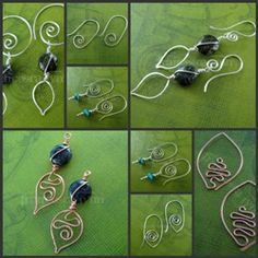 Learn to make Wire Wrapped Jewelry - Tutorials for Bracelets, Pendants, Rings, Earrings and more