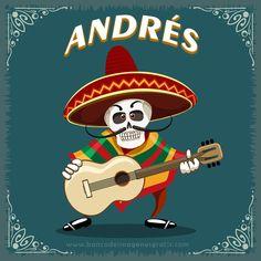 imagenes+dia+de+muertos+calaveritas+musico+con+guitarra+y+nombres+de+hombres+ANDRES.png (650×650)