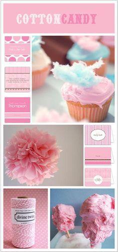 Theme Party Thursday: Cotton Candy
