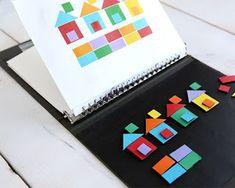 Autismus Arbeitsmaterial: Imitation von Modellen: Formen