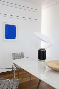 Tagliatelle Chairs By Jasper Morrison For Alias. Taccia Lamp By Castiglioni  Brothers, Flos.