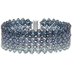 Faded Denim Bracelet | Fusion Beads Inspiration Gallery