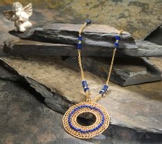 Pendants – ISIS, Pendant, lapis lazuli (OOAK)