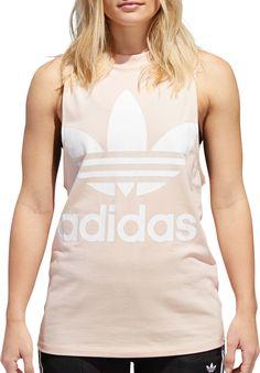 895bd2f6e1 adidas Originals Women's Trefoil Tank Top