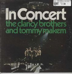 Clancy Brothers & Tommy Makem, The - In Concert
