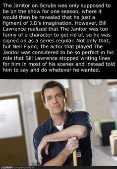 Scrubs wouldn't have been the same without him.