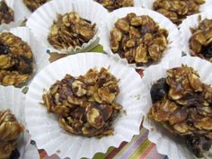 No Bake Peanut Butter Chocolate Granola Balls.little orbs of chocolatey peanut buttery goodness Granola Bars Peanut Butter, Peanut Butter Dog Treats, Chocolate Peanut Butter, Dog Treat Recipes, Dog Food Recipes, Dessert Recipes, Desserts, Pumpkin Dog Biscuits, Granola Bites