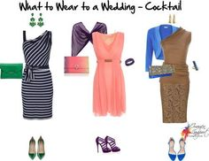 What to wear to a wedding - cocktail