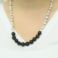 White Seed Necklace