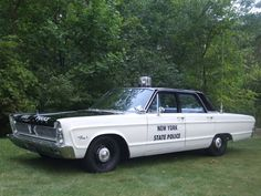 ◆New York State Police Plymouth◆