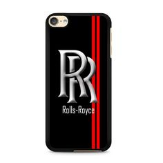 Rolls Royce Logo Silver For Ipod Touch 6 Case