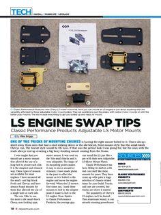 LS Engine Swap Tips
