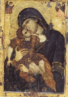 Sweet kissing Mother of God Παναγία ΄΄η Γλυκοφιλούσα΄΄ (Ι.Μ.Φιλοθέου Άγιον Όρος)