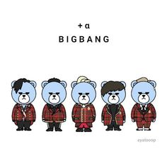 Gd Bigbang, Daesung, Krunk Bigbang, Bang 3, Top Choi Seung Hyun, G Dragon, Yg Entertainment, Lily, Kawaii