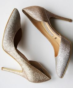 Ombre. Glitter. Shoes. Need we say more? Sponsored by Nordstrom Rack.