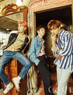 Ilhoon, Changsub, Sungjae (BTOB) - Céci Magazine April Issue '17