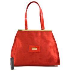 ae81ac9a07c5 Červená značková kabelka do ruky Mirabell