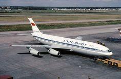 russian beauty // IL-86 Aeroflot