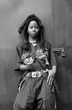 """""""Sacha 'Kalmplex' Morrison, Toronto, 2008,"""" Zanele Muholi. A piece in her photo project to document the lives of South African women-loving women."""