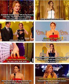Jennifer Lawrence hahaha