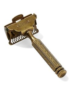 "In 1880, Kampfe Brothers, a Manhattan cutlery maker, filed the first U.S. patent for a single-edge ""safety razor""—called the Star—a revolutionary invention that won international awards for craftsmanship. Eighteen years later, one of the firm's longtime employees, Jerry Reichard, left to found the competing Gem Safety Razor Company, of Brooklyn. His Gem razor borrowed heavily from Kampfe Brothers' design—and quickly outpaced the Star in sales. Reichard's outfit patented this particular model…"