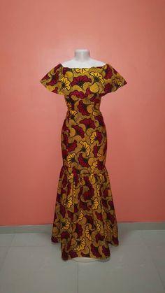 African Maxi Dresses, Ankara Dress Styles, Latest African Fashion Dresses, African Dresses For Women, African Print Fashion, African Attire, African Women, African Prints, Ankara Fashion