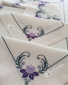 Cross Stitch Designs For Tablecloth Inspirational 1845 Best Cross Stitch Images Simple Embroidery, Crewel Embroidery, Ribbon Embroidery, Cross Stitch Embroidery, Cross Stitch Alphabet Patterns, Cross Stitch Bookmarks, Cross Stitch Designs, Simple Cross Stitch, Cross Stitch Rose
