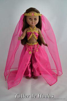 VESTIDO PARA NANCY DE FAMOSA. ARABIA. (Juguetes - Muñeca española Moderna - Nancy y Lucas, vestidos y accesorios)