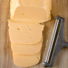 DIY: American Cheese - I always have Velveeta in the house. That stuff is expensive and contains NO real cheese. Why not try making it myself with Colby cheese? I think I will.