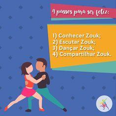 Só é feliz quem dança Zouk! <3  #TerradoDaDanca #Dance #DancaDeSalao