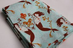 Your place to buy and sell all things handmade Upholstery Fabric For Chairs, Cool Fabric, Mermaids, Aqua, Thankful, Etsy, Water, Sirens, Mermaid