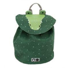 Trixie-Zaino mini in cotone Mr Crocodile Rucksack Backpack, Mini Backpack, Crocodile, Blouse Volantée, Short Fille, Swim Lessons, Cute Backpacks, Coton Biologique, Kind Mode