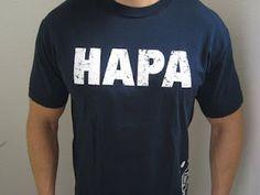 maui built's hapa t-shirt. #hawaii
