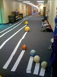 Planet Project, great visual representation of the planets distances