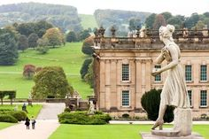 Chatsworth House, North Derbyshire, England