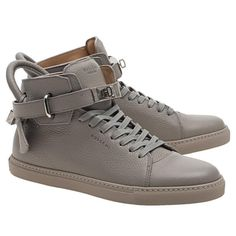 Buscemi Mens Silver Lock High Top Sneakers 46 Us 13 Men Gray Athletic Shoes. Get the must-have athletic shoes of this season! These Buscemi Mens Silver Lock High Top Sneakers 46 Us 13 Men Gray Athletic Shoes are a top 10 member favorite on Tradesy. Save on yours before they're sold out!