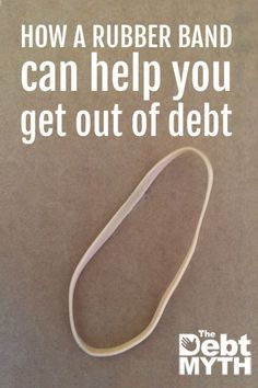 This method is so simple that if I just tell you right out, you& probably roll your eyes and move on. But you shouldn& miss the rubber band method, because its one of those great little life hacks that can totally help you get out of debt. Budgeting Finances, Budgeting Tips, Money Tips, Money Saving Tips, Money Hacks, Cash Money, Tax Debt, Living On A Budget, Frugal Living