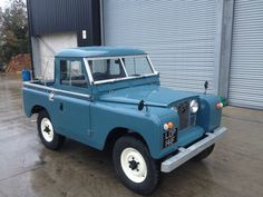 This is a land rover series 2/a 1967 truckcab. Marine Blue. No work needed starts and drives as it should. viewing recommended. | eBay!