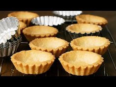 Tart Recipes, Sweet Recipes, Cookie Recipes, Dessert Recipes, How To Make Tart, Mini Tart Shells, Tart Crust Recipe, Coconut Tart, Creme Dessert