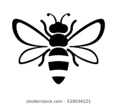 15 Best Bee Drawing Images Bee Drawing Honey Bee Drawing Bees