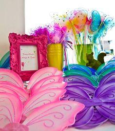 Fairy dust birthday party....cute idea