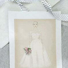 A sketch gift for my brides♥