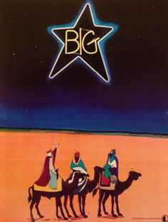 Big Star, original promo poster, 1973