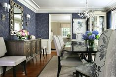 blue dining room designs decorating ideas design trends furniture tables and