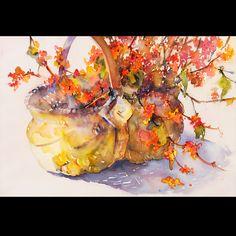 Bittersweet Basket by Nancy Neville