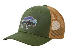 2ca6e73669e48d Patagonia - Fitz Roy Bison Trucker Hat Hats Online, Patagonia, Buffalo,  Bison,