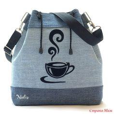 Bucket Bag или «сумка-мешок». Идеи джинсовых сумок - Сумки &Co - Страна Мам