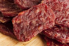 DIY Chicken or Beef Jerky Treats for Dogs